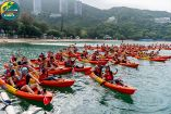 Families enjoy outdoor nature at Action Asia Kayak n Run