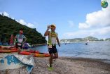 Team Garlic shares love on nature at Kayak n Run Series