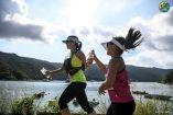 Six-year-old girls make short work of the Action Asia Kayak n Run