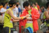 Debbie Yin Pui Ling gets ready for Bonaqua Lifeproof Action Sprint