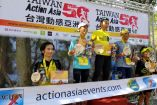 Technical ridgelines with 3000m gain Taiwan Action Asia 50