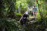 Technical muddy trails don't stop smiles at Action Asia Taiwan XTRAIL