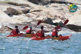Mixed teams battle for top 3 Tai Tam Action Asia Kayak n Run