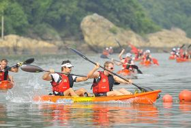 2015 - Royale International Kayak n Run Deep Water Bay