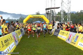 2015 - Salomon Action Asia Malaysia - TRAIL run in assoc w OtterBox