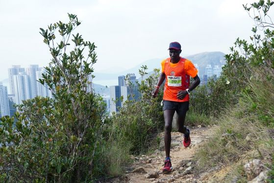 Kenyan prays to God for strength on final HK50 climbs for record win over Ixel