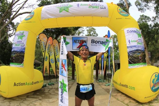 Nepalese Yamanath comes from behind - Bonaqua Action X SPRINT - Lau places Queen of Women